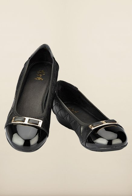 Tresmode Sobal Black Ballerinas