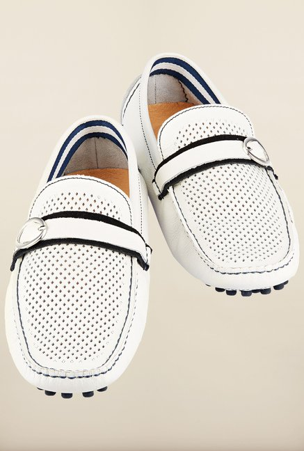 Tresmode Joden White Loafers