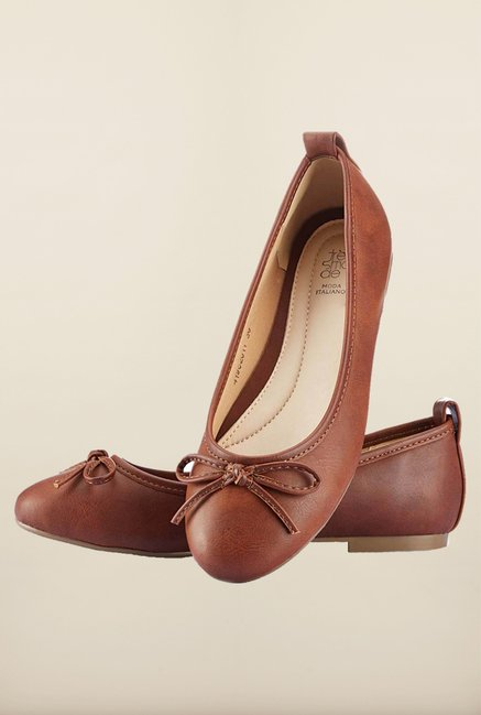 Tresmode Sosing Brown Ballerinas