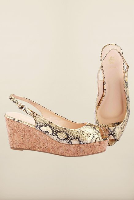 Tresmode Shywed Gold Wedges