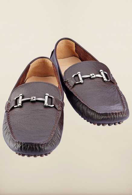 Tresmode Jiecas Black Loafers