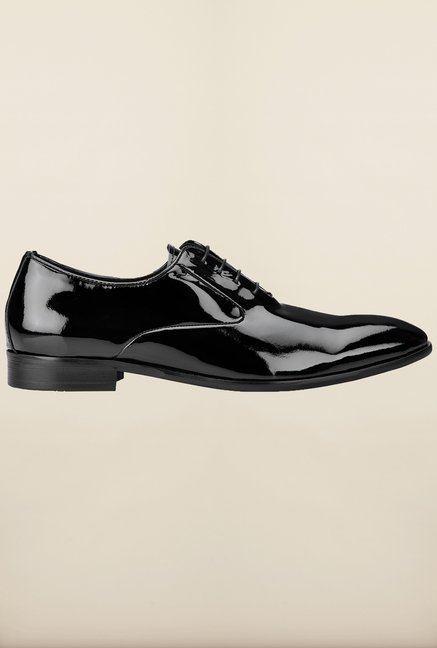 Tresmode Cofilm Black Oxford Shoes