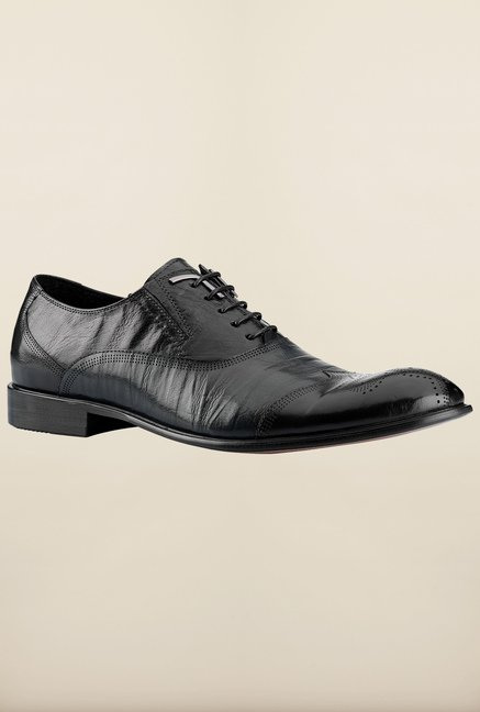 Tresmode Beroy Black Brogue Shoes