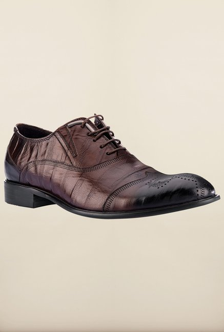 Tresmode Beroy Brown Brogue Shoes