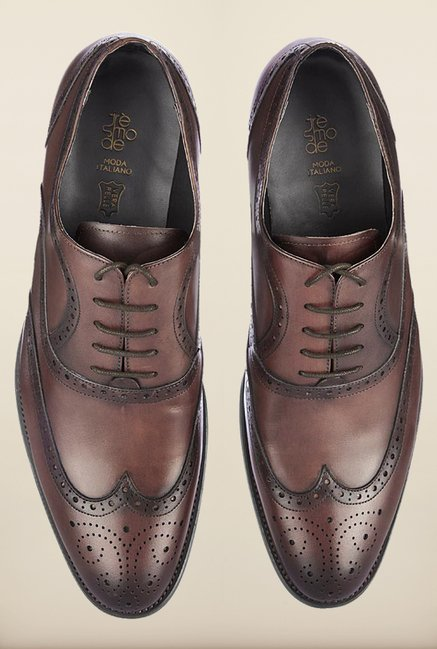 Tresmode Bobrush Brown Brogue Shoes