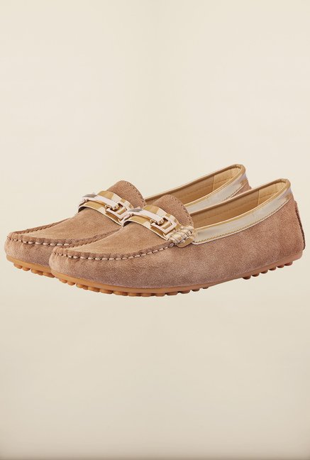 Tresmode Ayaloaf Tan Loafers