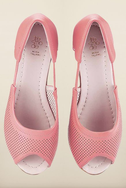 Tresmode Besumcool Pink Wedges