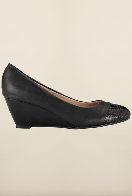 Tresmode Bework Black Wedges