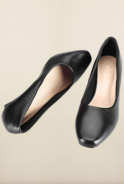 Tresmode Cepun Black Slide Shoes