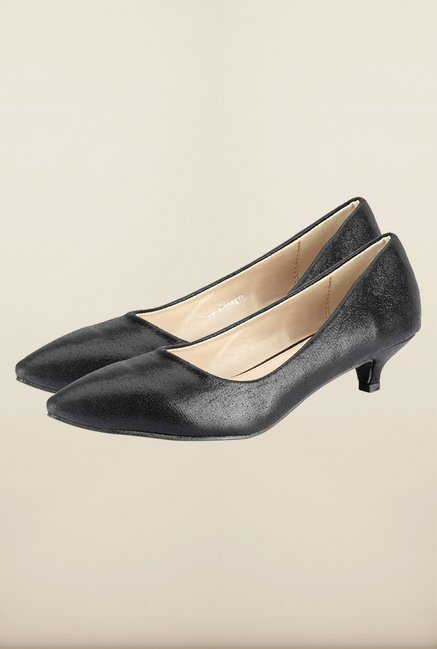 Tresmode Heump Black Slide Shoes