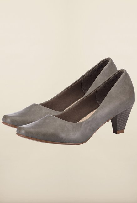 Tresmode Cepun Grey Slide Shoes