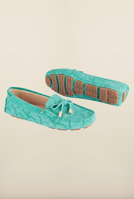Tresmode Aloadnew Green Moccasins