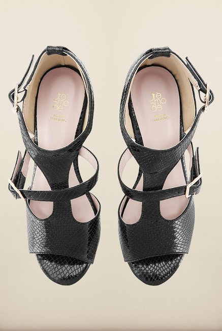 Tresmode Charmglad Black Wedges