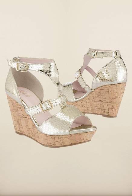 Tresmode Charmglad Gold Wedges