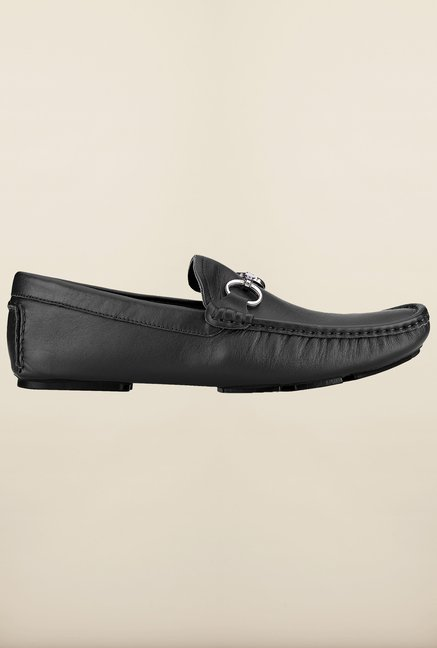 Tresmode Savamo Black Loafers