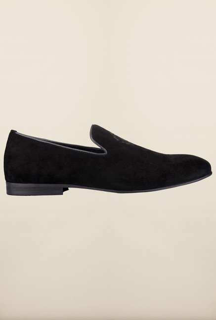 Tresmode Coporsche Black Loafers