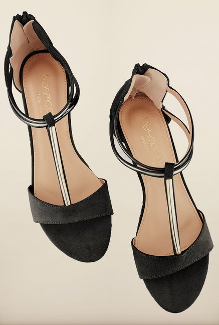 Tresmode Tiangsan Black Wedges