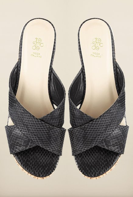Tresmode Ceprint Black Wedges