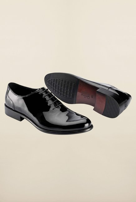 Tresmode Bebatent Black Oxford Shoes