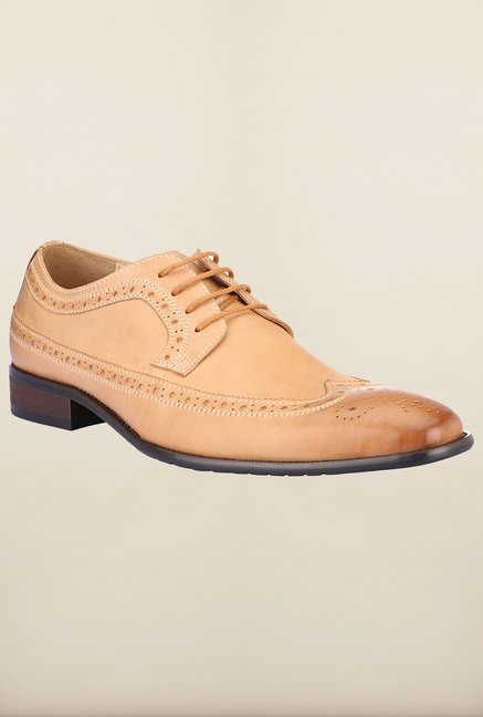 Tresmode Fugu Tan Brogue Shoes