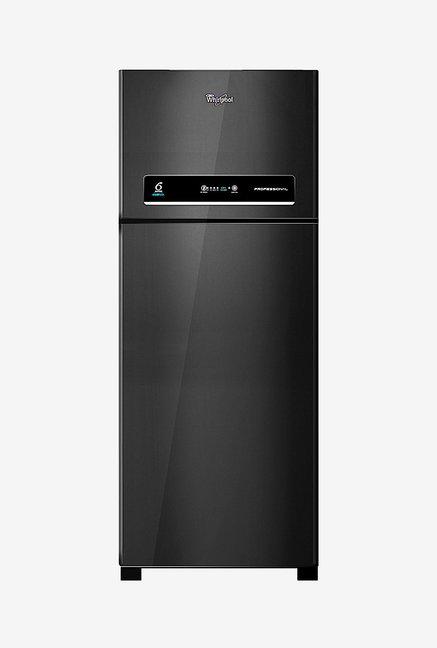 Whirlpool Pro 425 ELT 410L '3 Star  Double Door Refrigerator (Black)