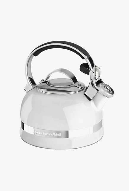 KitchenAid 2.0-Quart Kettle with Full Handle White