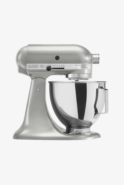KitchenAid Artisan Tilt-Head Stand Mixer Sugar Pearl Silver