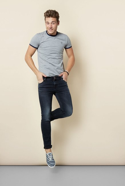 Integriti Black Solid Jeans