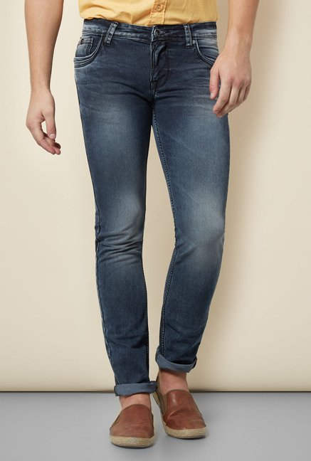 Integriti Blue Heavily Washed Jeans