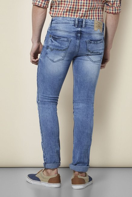 Integriti Blue Cotton Jeans