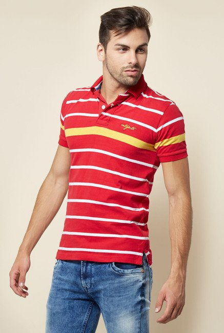 Integriti Red Striped T Shirt