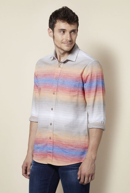 Integriti Multicolor Striped Shirt