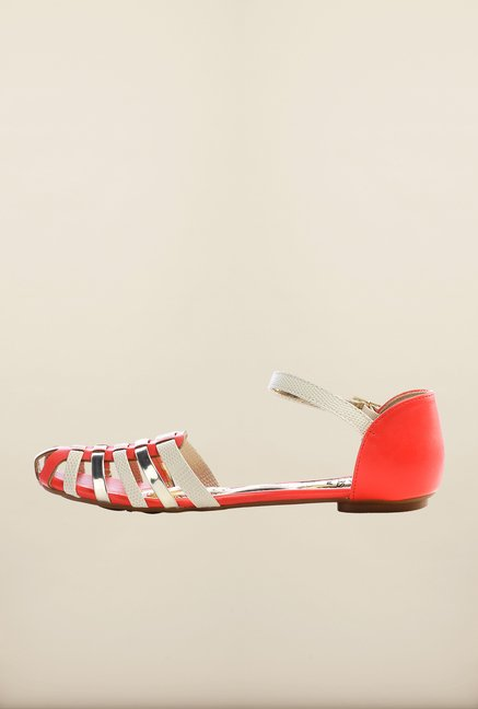 Pavers England Coral Ankle Strap Sandals