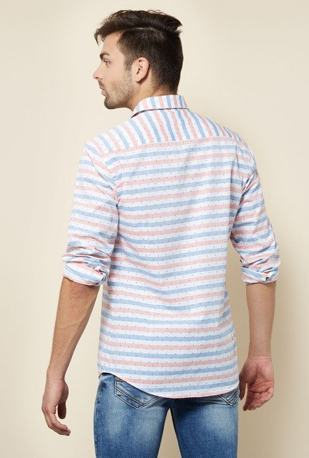 Integriti White & Red Striped Shirt