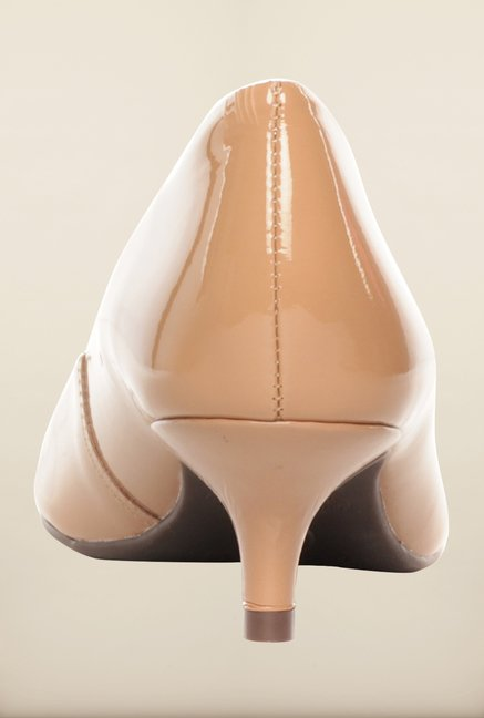 Pavers England Beige Pumps