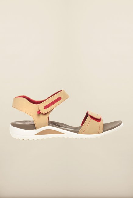 Pavers England Beige Floater Sandals