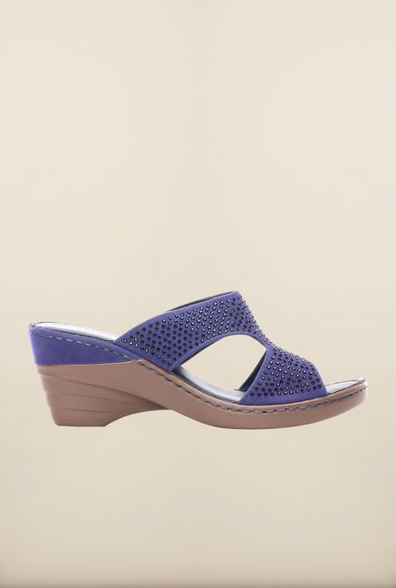 Pavers England Blue Wedges