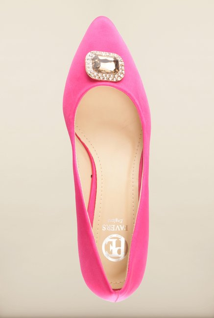 Pavers England Fuschia Pumps