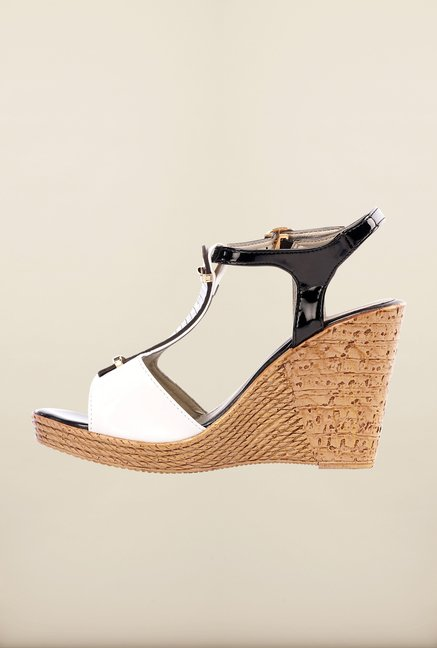 Pavers England Black & White Wedges