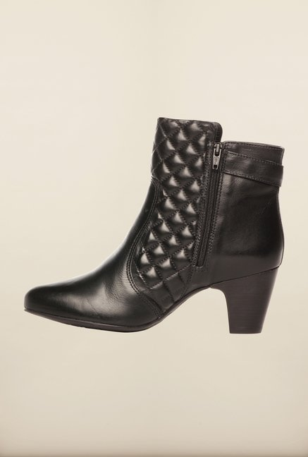 Pavers England Black Booties