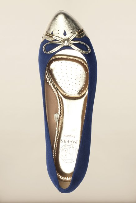 Pavers England Blue & Golden Ballerinas