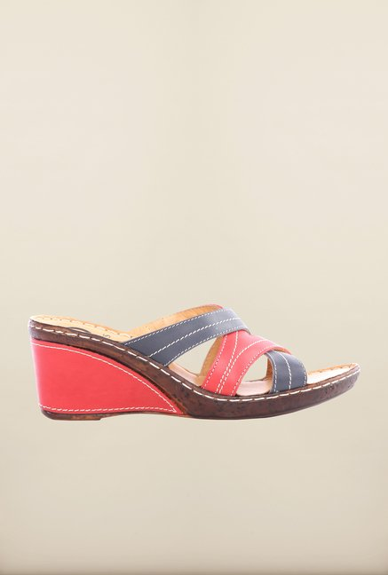 Pavers England Navy & Red Wedges