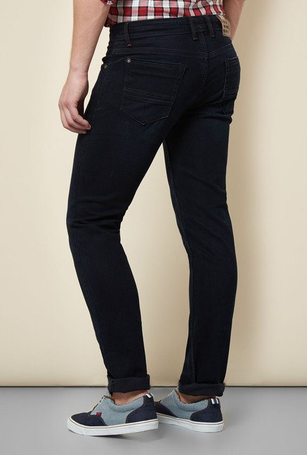 Integriti Dark Blue Lightly Washed Jeans