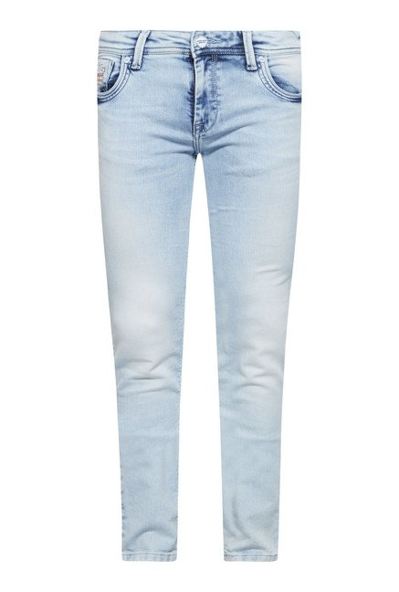 Integriti Light Blue Solid Jeans