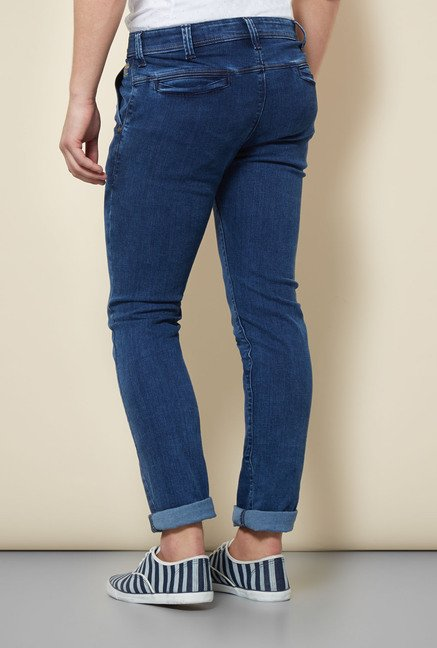 Integriti Dark Blue Solid Jeans