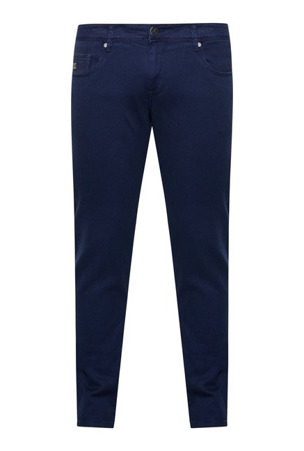 Integriti Navy Solid Jeans