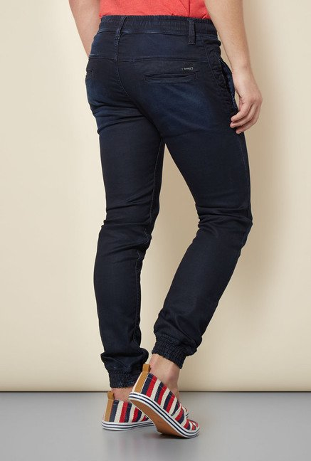 Integriti Navy Cotton Jeans