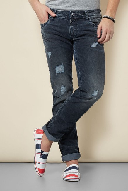 Integriti Blue Tattered Jeans