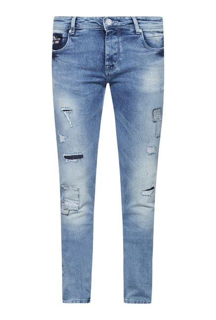 Integriti Blue Skinny Fit Jeans