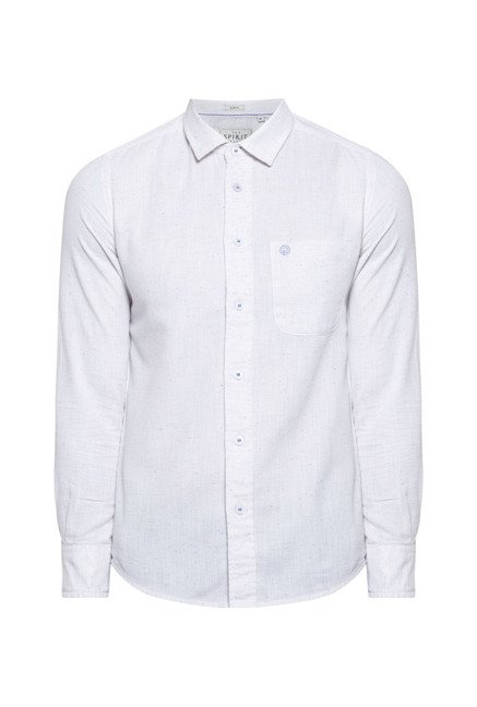 Integriti White Slim Fit Shirt
